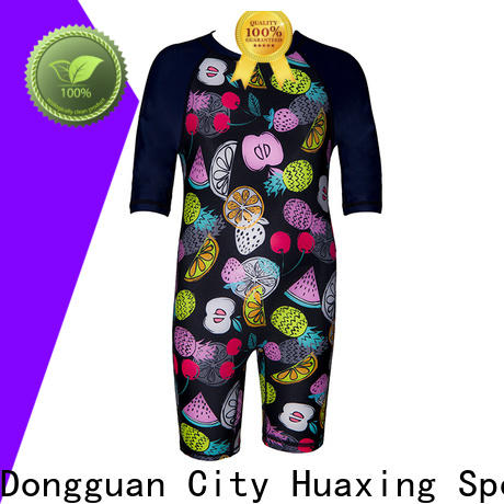 Huaxing mens rash guard for girls from manufacturer for canoe polo