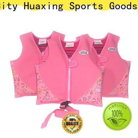 Huaxing arm kids swimming life jacket for swimming