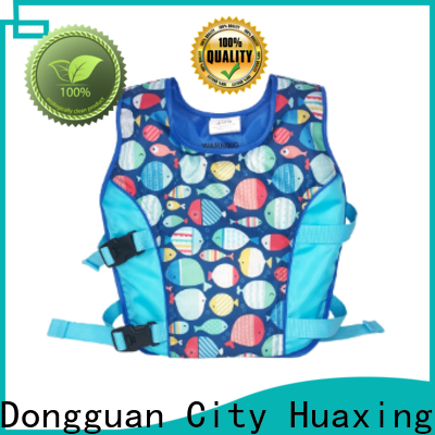 Huaxing flotation baby swim vest bulk production for swimming
