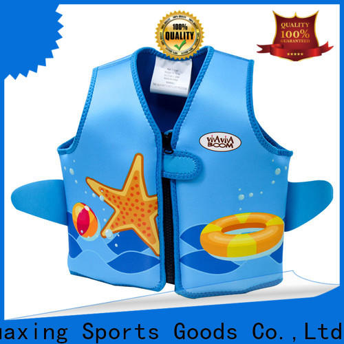 Huaxing professional swimming life jacket producer for swimming
