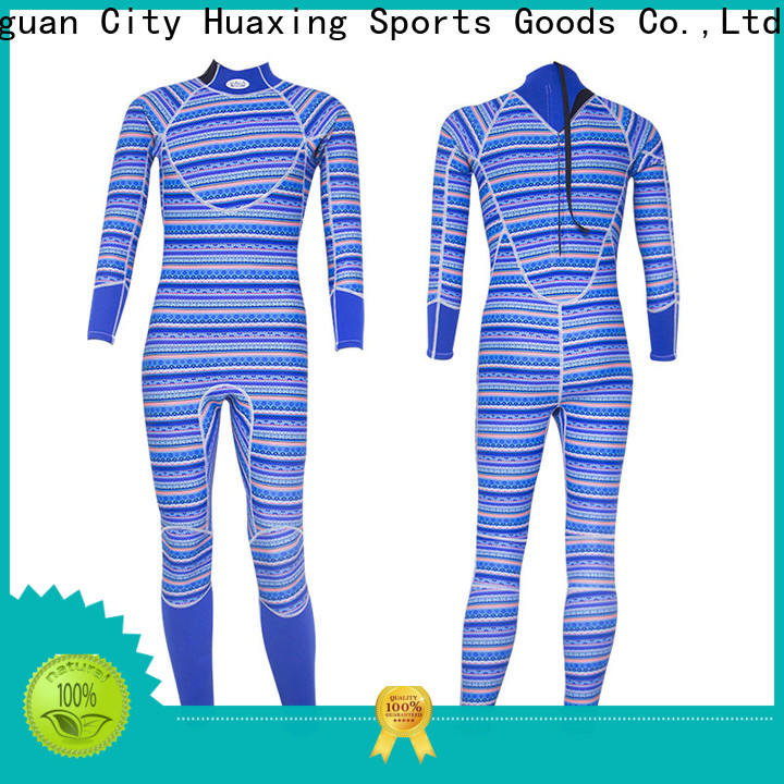 Huaxing top mens wetsuit producer for lake activities