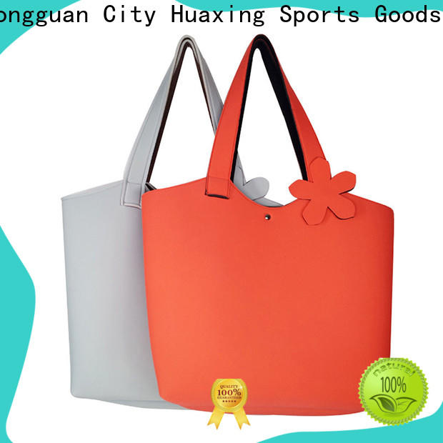 Huaxing blue neoprene tote factory price for computer
