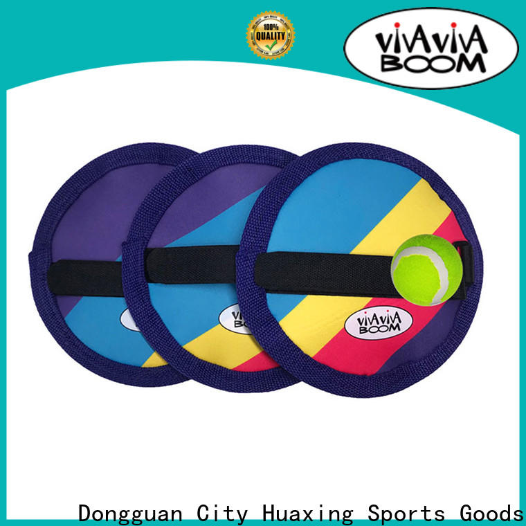 Huaxing colorful beach paddle ball game dropshipping for sea