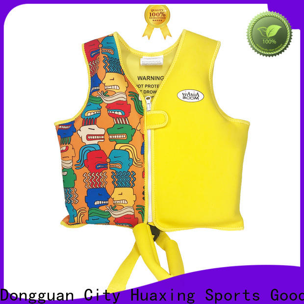 Huaxing soft swim vest producer for swimming