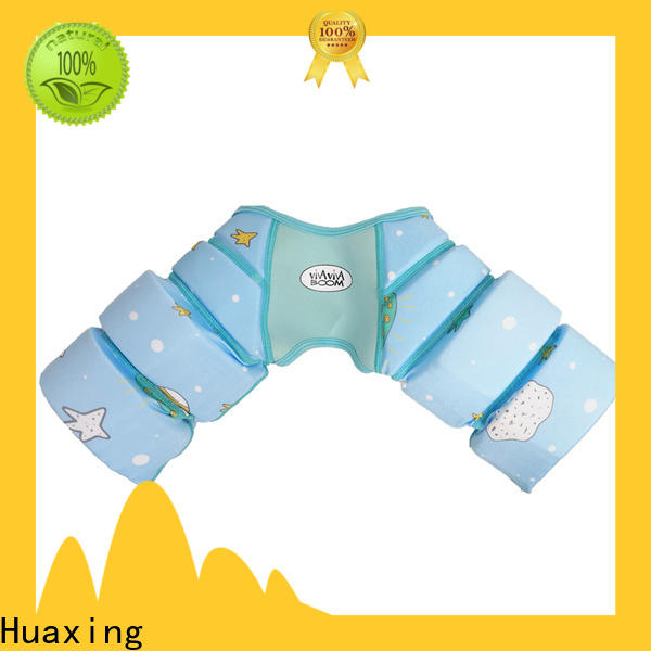 Huaxing color super soft swim vest producer for swimming