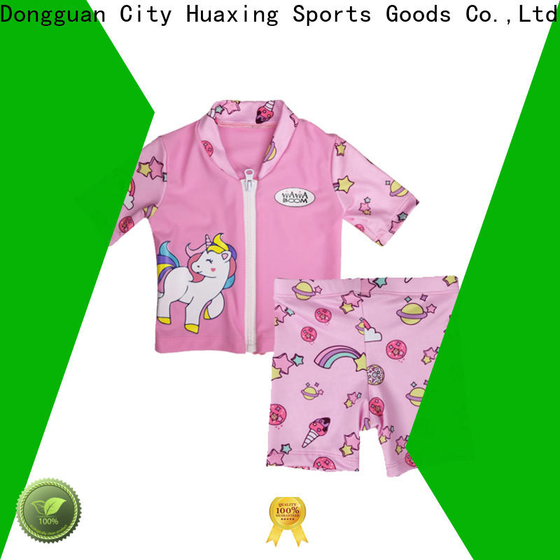 Huaxing years women rash guard dropshipping for water survival training