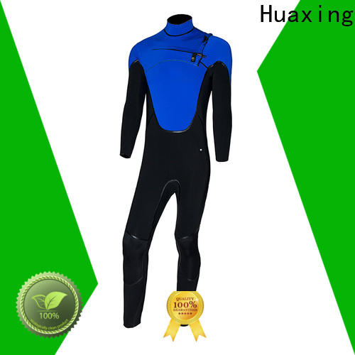 Huaxing quality black wetsuit bulk production for paddle sports