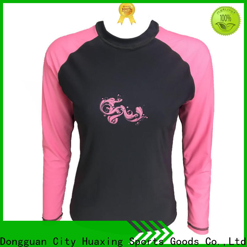 good-looking rash guard swimsuit sleeve from manufacturer for surfing
