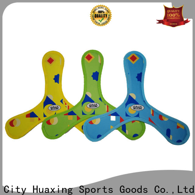Huaxing newly neoprene pet toy bulk production for beach game