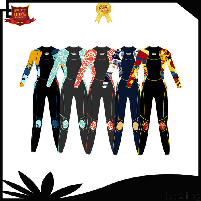 soft pattern wetsuit girls from china for lake activities