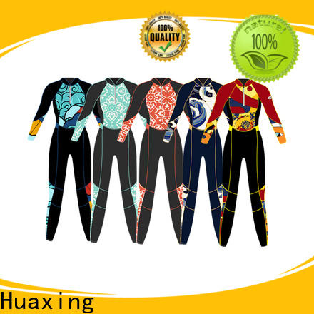 Huaxing print best wetsuits for surfing in china for lake activities
