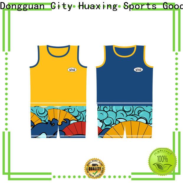 Huaxing good-looking rash guard long sleeve for canoe polo