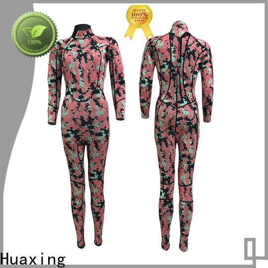 colorful pattern wetsuit spearfish owner for diving