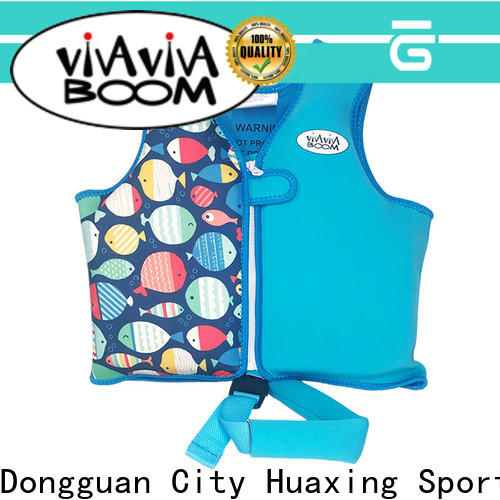 Huaxing colorful swim school life vest from manufacturer for toddler
