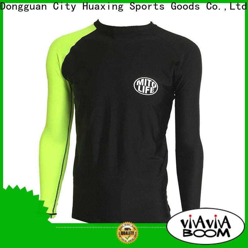 comfortable rash guard swimsuit protection for surfing