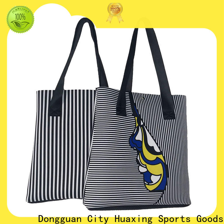 Huaxing fashion design neoprene tote bag manufacturer for children