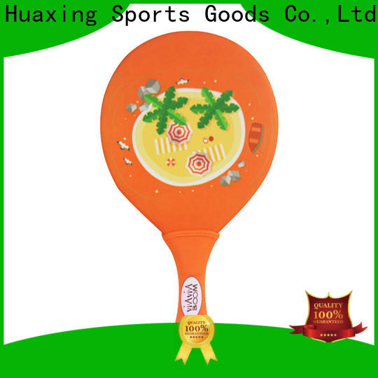 Huaxing good looking neoprene catch ball set manufacturer for beach game