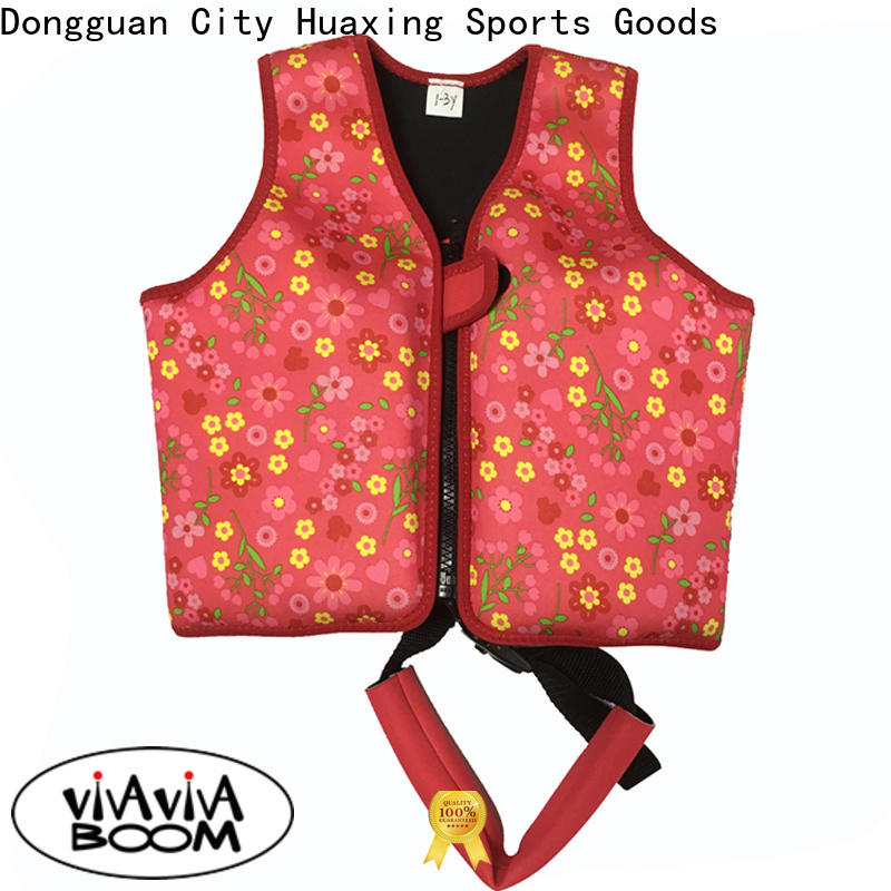 Huaxing soft toddler life jacket for pool producer for kids