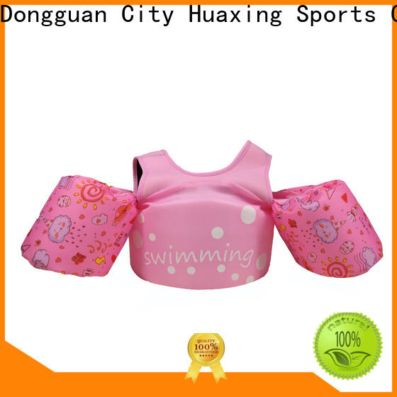 Huaxing customizable baby swim vest grab now for kids