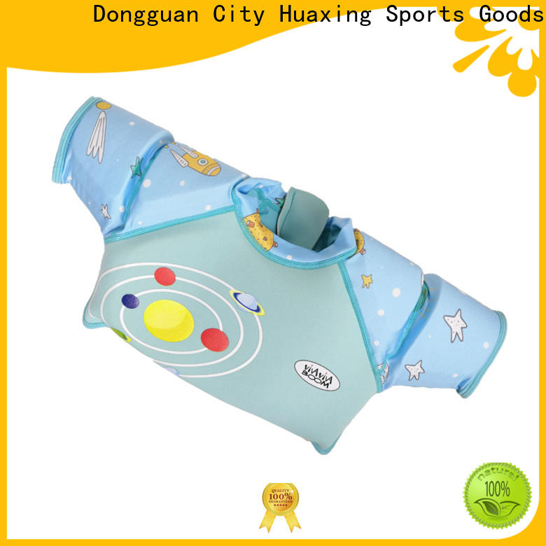 Huaxing breathable swimming life vest producer for toddler