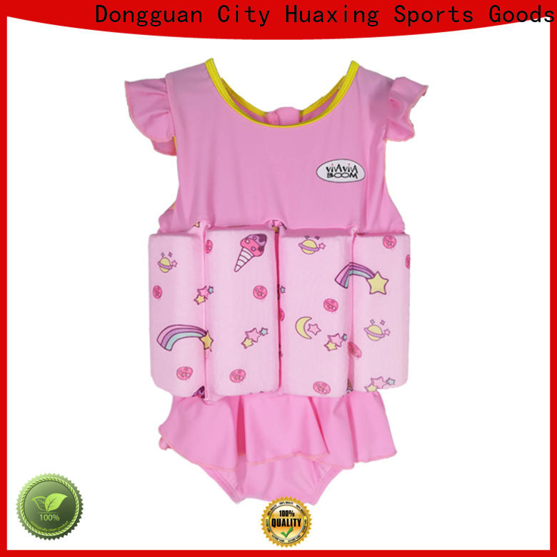 Huaxing colorful swimming life vest for toddlers producer for surfing