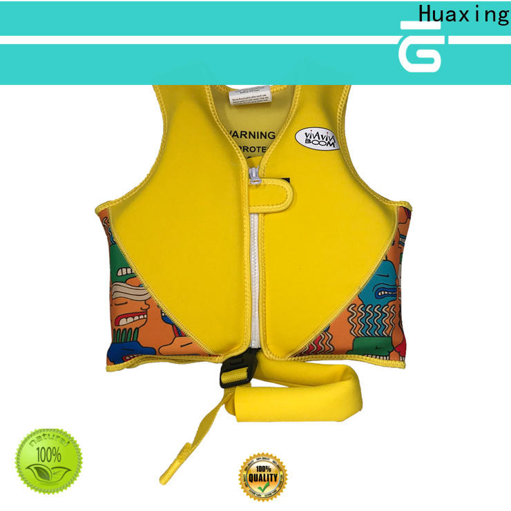 Huaxing quick dry baby swimming life vest factory price for swimming