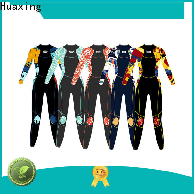 Huaxing camo female wetsuit for paddle sports
