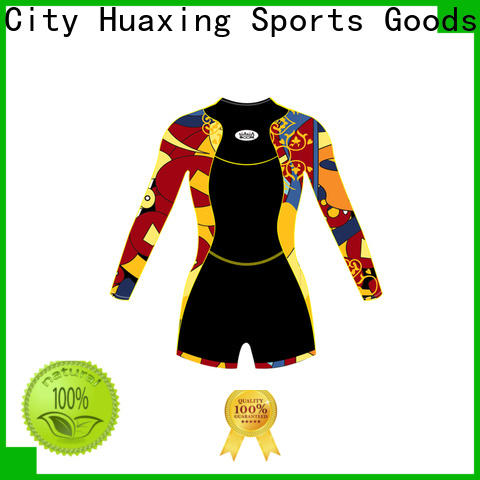 Huaxing high-quality mens wetsuit owner for lake activities