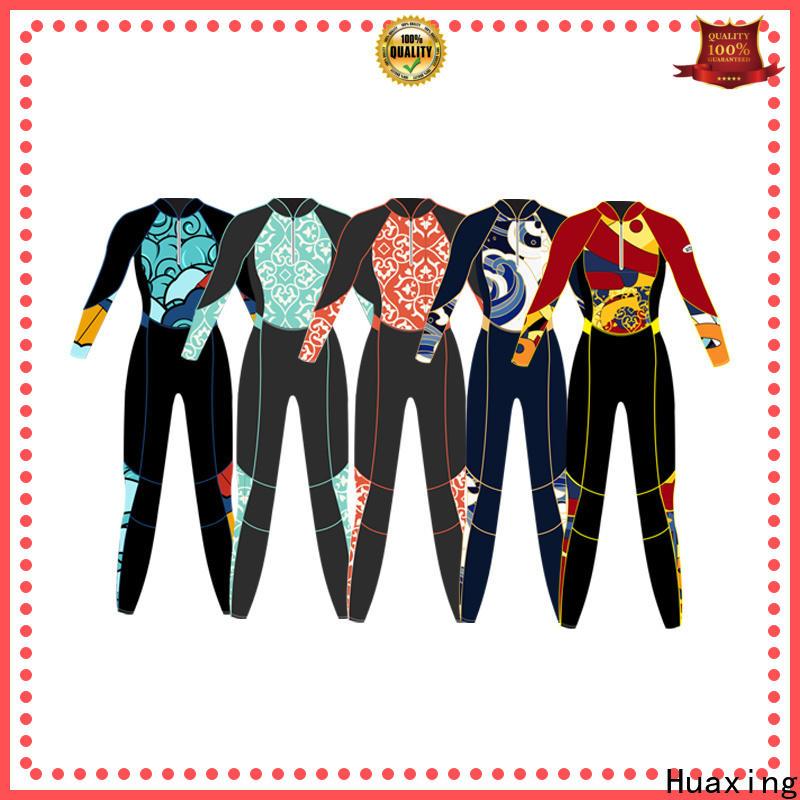 Huaxing swimwear swimming wetsuit bulk production for lake activities
