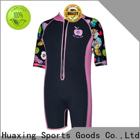Huaxing women womens shorty wetsuit supplier for surfing