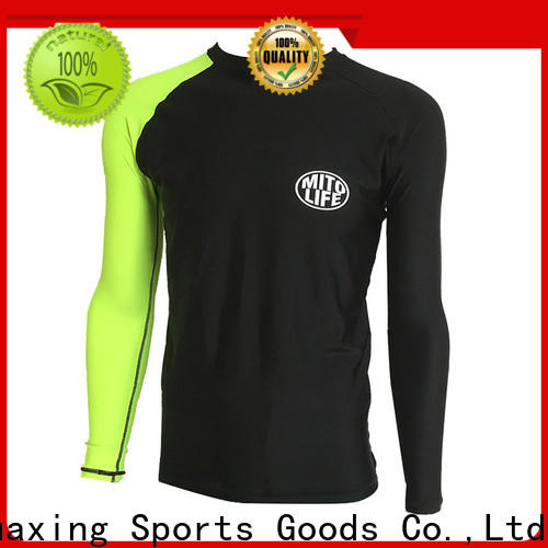 fit youth rash guards back from manufacturer for wakeboarding