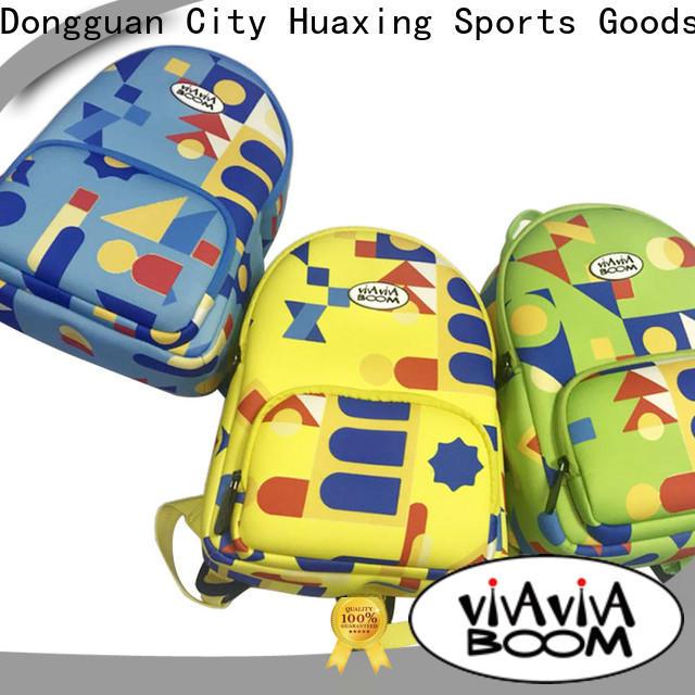 Huaxing durable perforated neoprene bag bulk production for children
