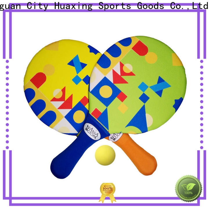 Huaxing colorful neoprene float toy dropshipping for beach game