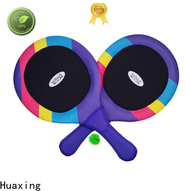 Huaxing newly neoprene pet toy beach game for sea