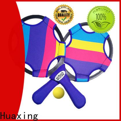 Huaxing fabric best beach tennis rackets beach game for sea