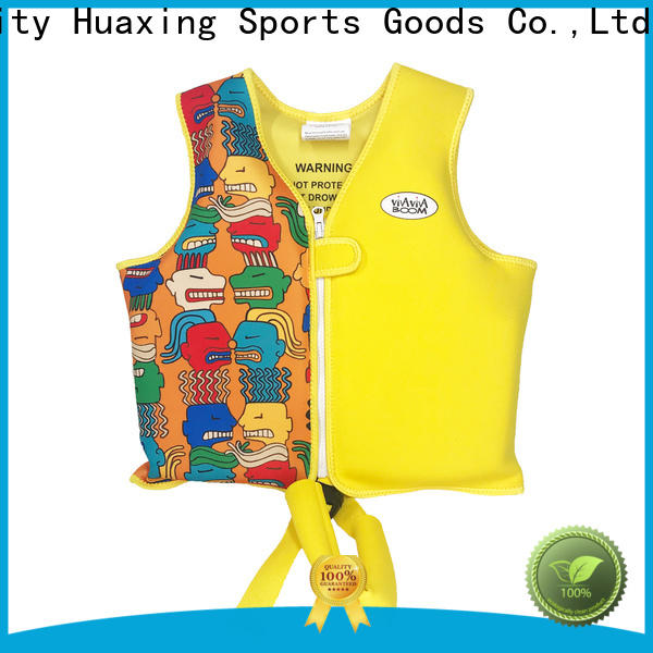 Huaxing safe puddle jumper swim vest factory price for beach