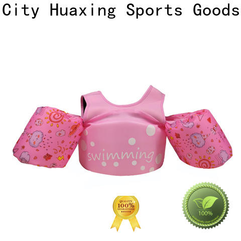 Huaxing safe toddler swim vest factory price for beach