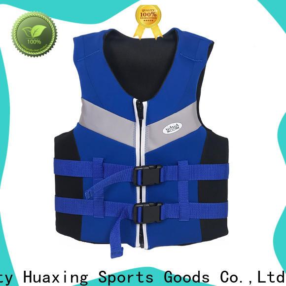Huaxing breathable girls swim vest bulk production for surfing