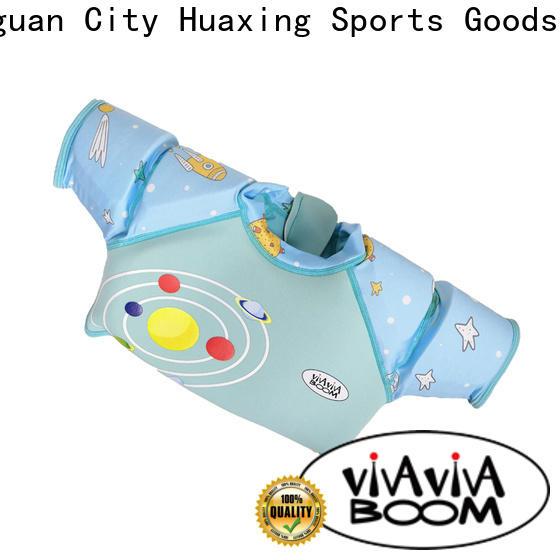 Huaxing breathable childrens swim vest for kids