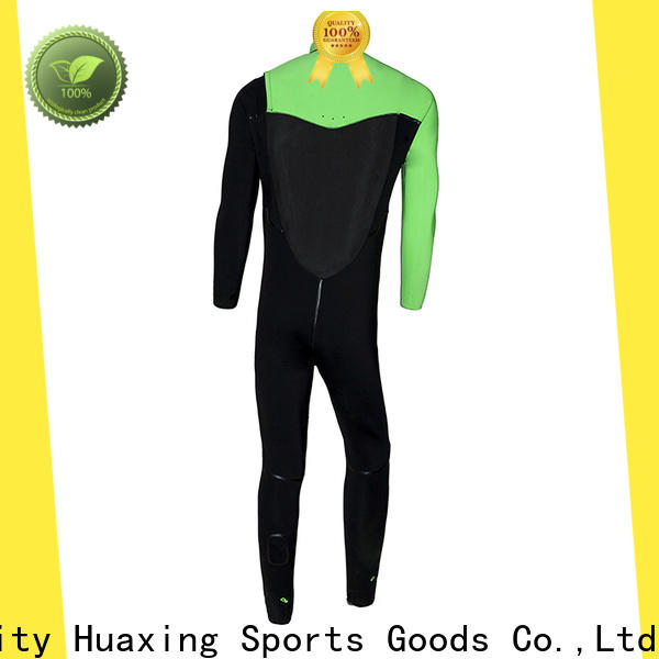 Huaxing printing swimming wetsuit producer for lake activities