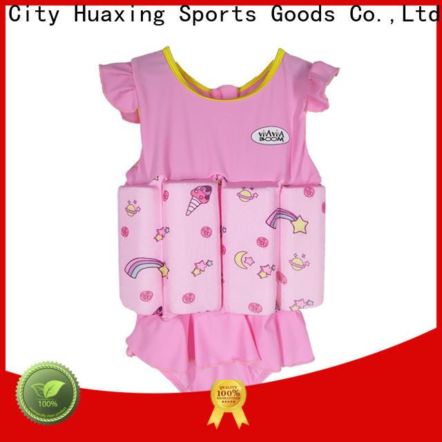 Huaxing high-quality toddler swim vest vendor for kids