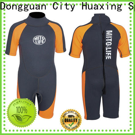 Huaxing swimwear wetsuit for kids bulk production for diving