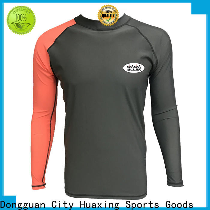 Huaxing good-looking ladies rash guard for snorkeling