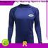 fashion design girls long sleeve rash guard printed from manufacturer for bodysurfing