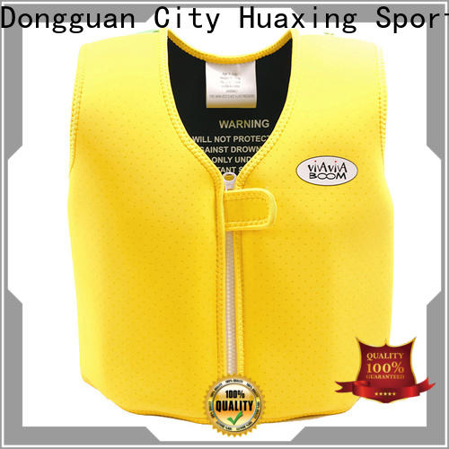 Huaxing pool kids swimming life jacket producer for beach