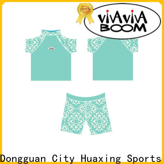 Huaxing child rash guard for girls producer for windsurfing