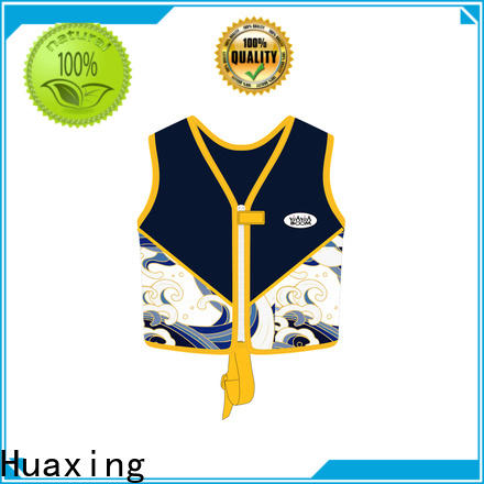 Huaxing breathable swimming life jacket bulk production for toddler