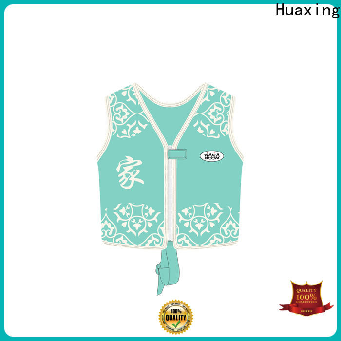 Huaxing quick dry baby swim vest from manufacturer for kids