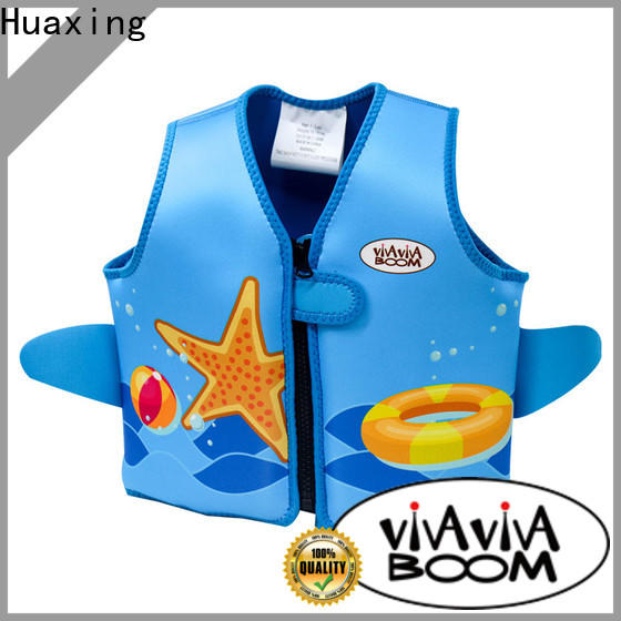 Huaxing great girls swim vest from manufacturer for surfing