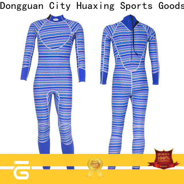 waterproof best scuba wetsuit blue from china for diving